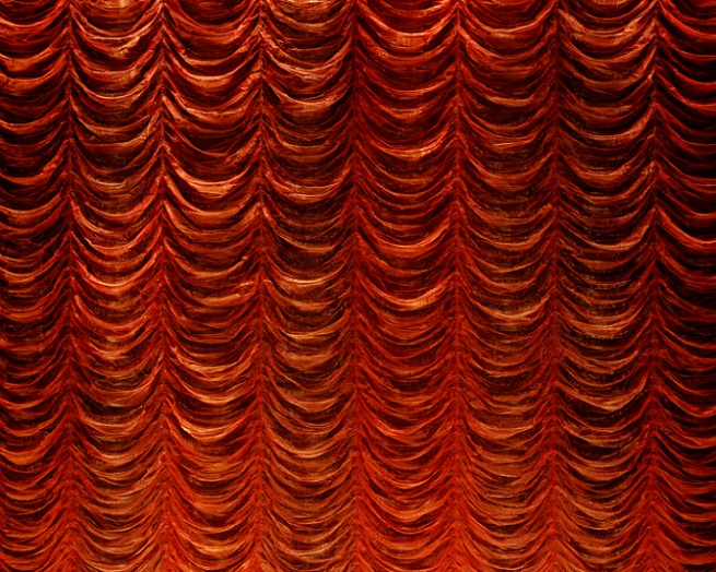 Paul Knight. 'Cinema curtain #3' 2004