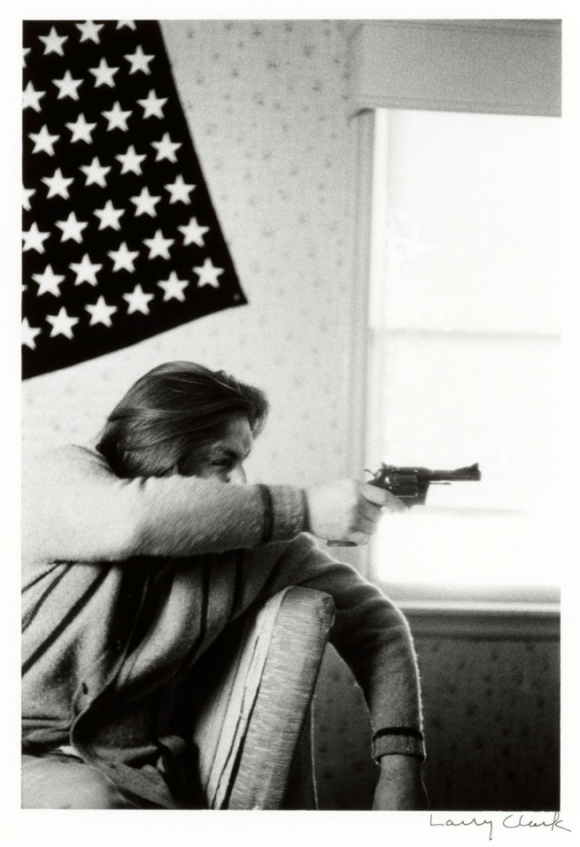 Larry Clark (American, b. 1943) 'Tulsa' 1972