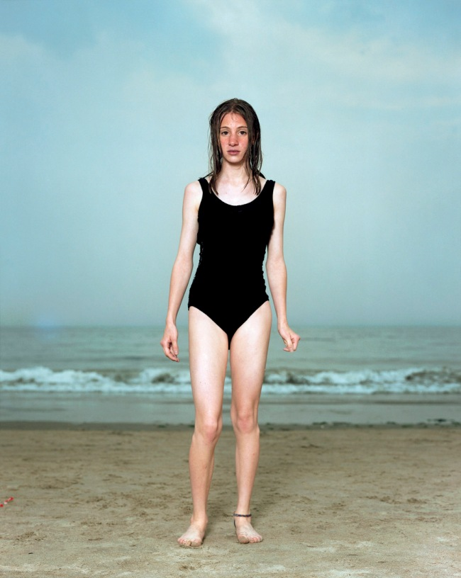 Rineke Dijkstra. 'Coney Island, N.Y., USA, June 20, 1993'