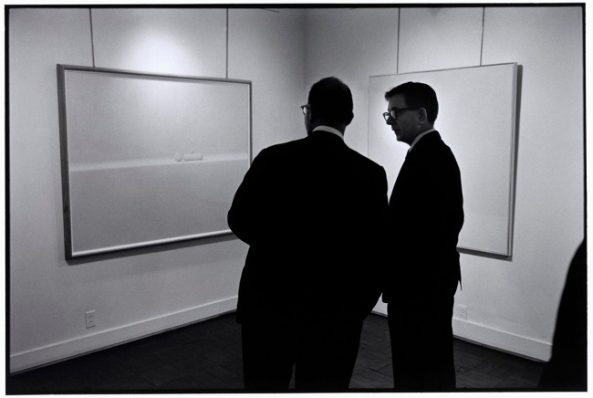 Elliott Erwitt(American, b. 1928) 'USA. New York. 1963. 57th Street Gallery' 1963