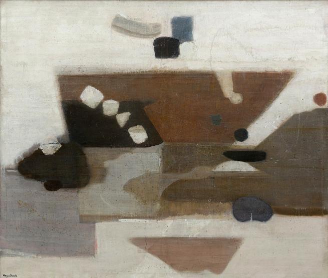 Kenzo Okada (Japanese, 1902-1982) 'Decision' 1956