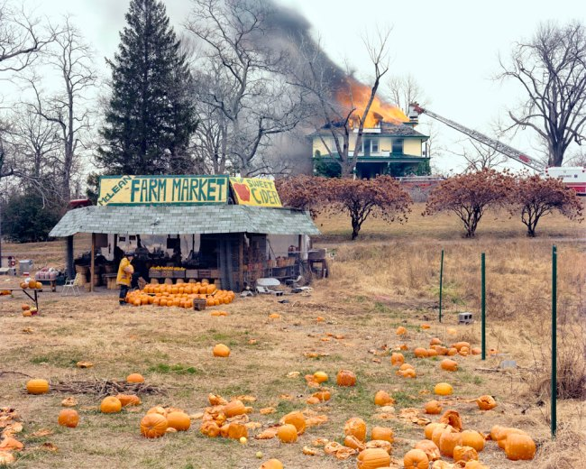 Joel Sternfeld. 'McLean, Virginia, December 1978' 1978