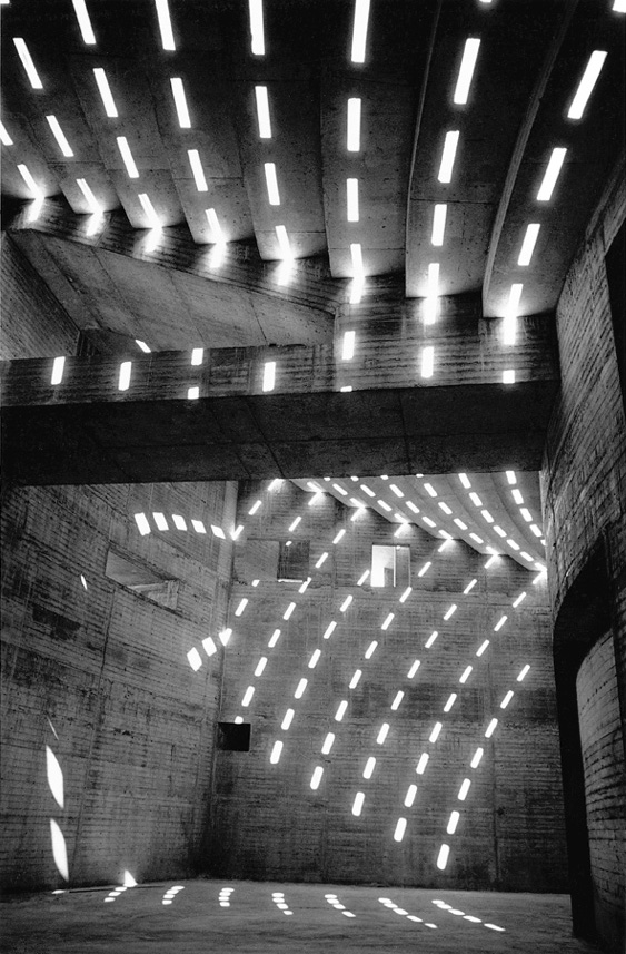 David Moore. 'Sun patterns within the Sydney Opera House' 1962