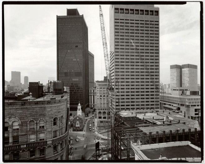 Nicholas Nixon (American, b. 1947) 'View of State Street, Boston' 1976
