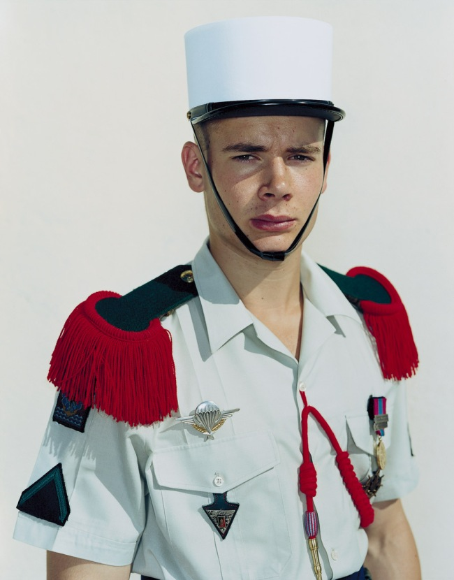 Rineke Dijkstra. 'Olivier, The French Foreign Legion, Camp Raffalli, Calvi, Corsica, June 18, 2001' 2001