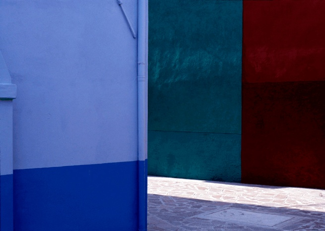 Robert Owen. 'Street, Burano, Italy' 1978