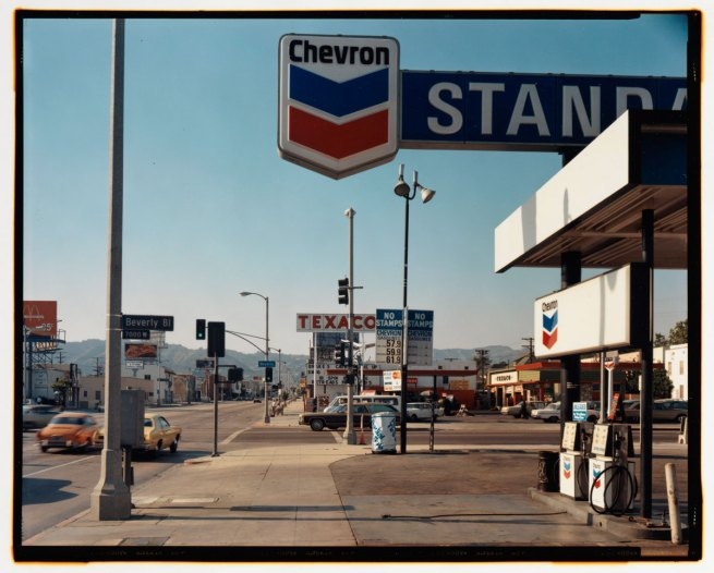Stephen Shore. 'La Brea Avenue & Beverly Boulevard, Los Angeles, California' 1975