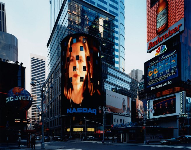 Thomas Struth (German, b. 1954) 'Times Square, New York' 2000