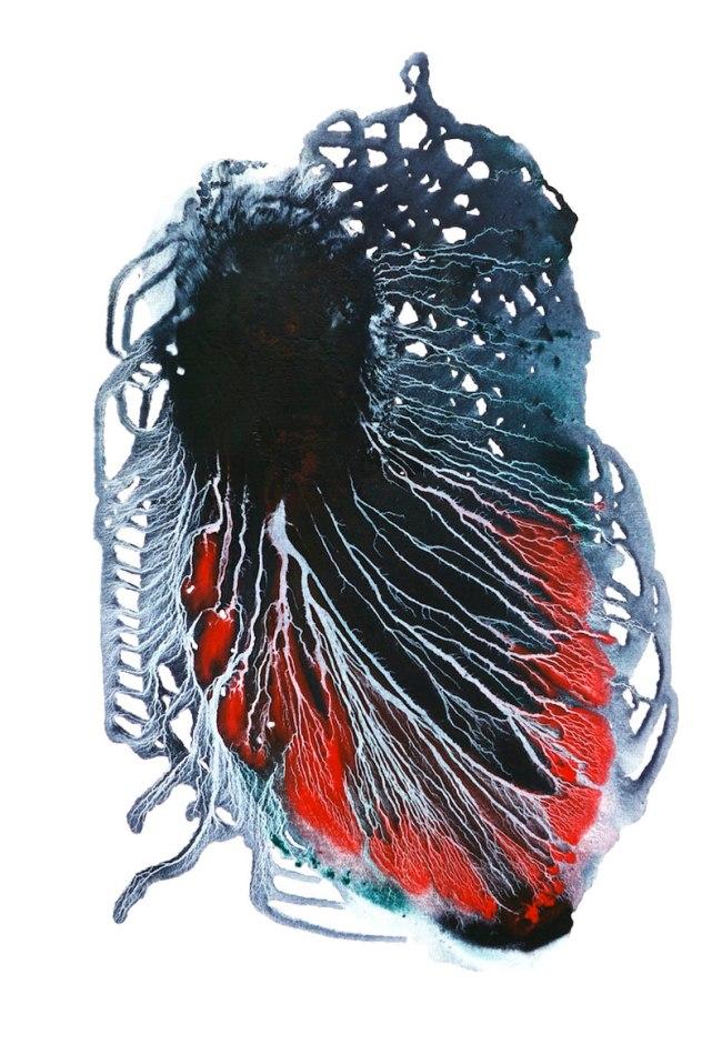 Jenny Reddin. 'Suspended Journey' 2012