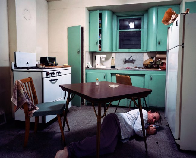 Jeff Wall. 'Insomnia' 1994