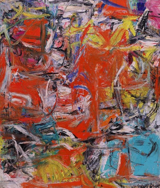 Willem de Kooning. 'Composition' 1955