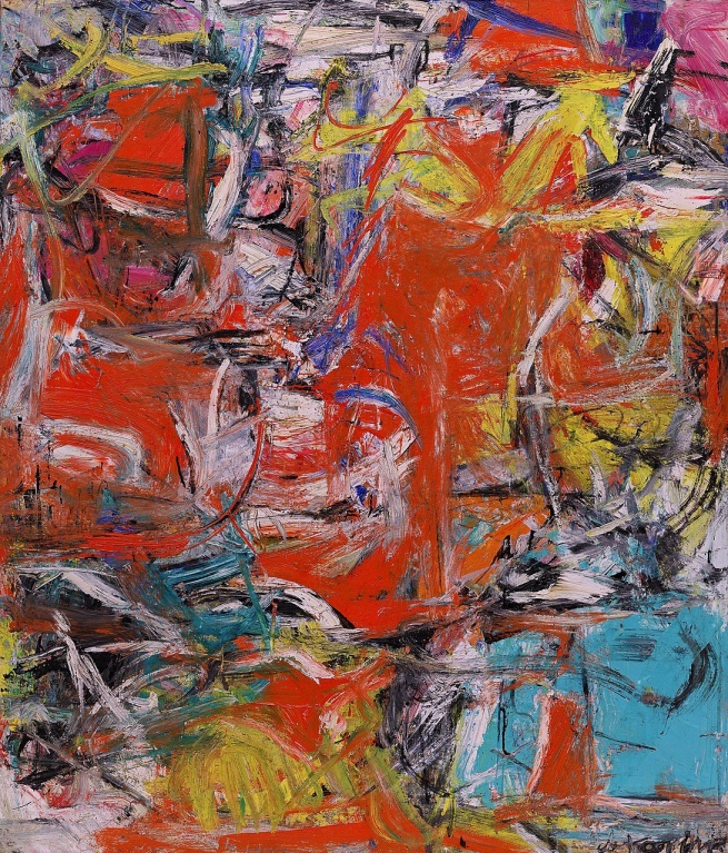 Willem de Kooning. 'Composition' 1955