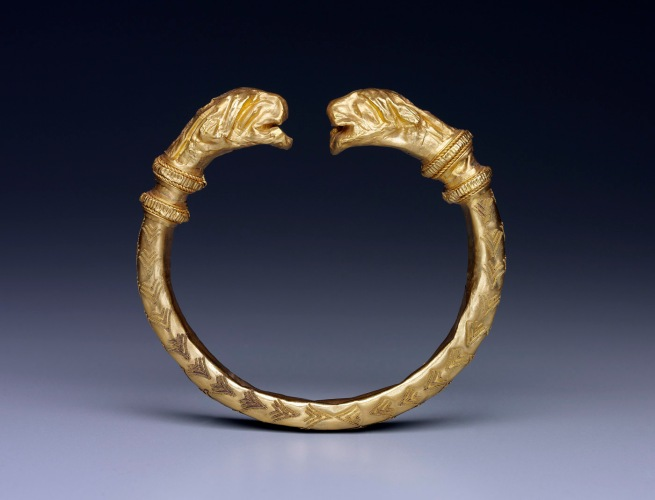 Anon. 'Armlet with feline-head terminals' Late 5th century BC