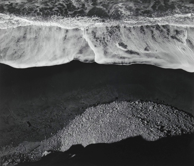 Ansel Adams (American, 1902-1984) 'Surf Sequence #1, San Mateo County Coast, California' 1940