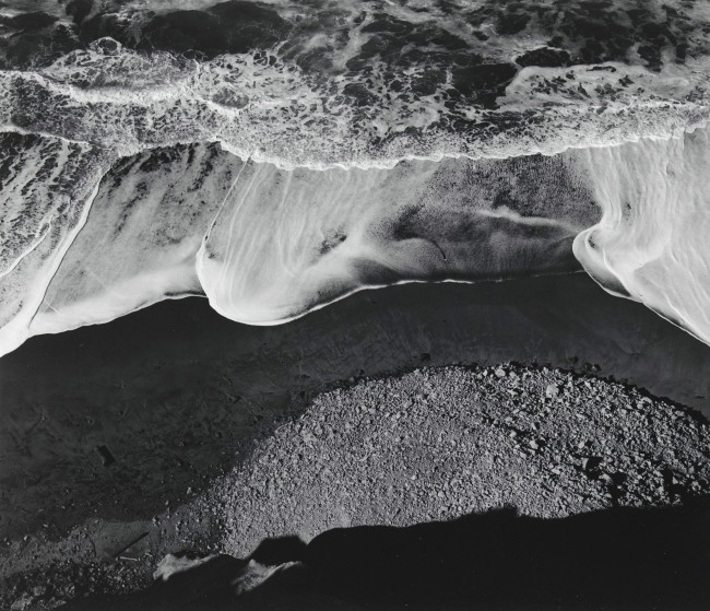 Ansel Adams (American, 1902-1984) 'Surf Sequence #3, San Mateo County Coast, California' 1940