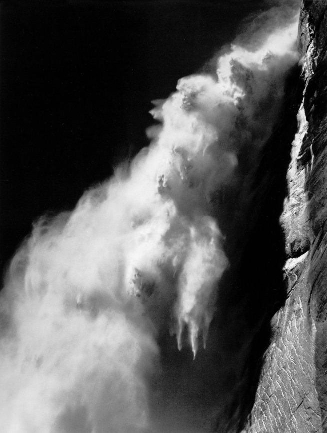 Ansel Adams (American, 1902-1984) 'Upper Yosemite Fall' 1946