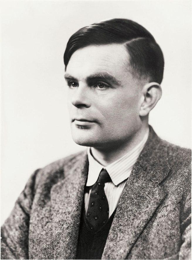 Elliott & Fry. 'Alan Mathison Turing' 1951