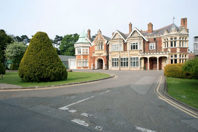 Government Code and Cypher School (GC&CS) (World War Tw0) 'Bletchley Park' Buckinghamshire, England