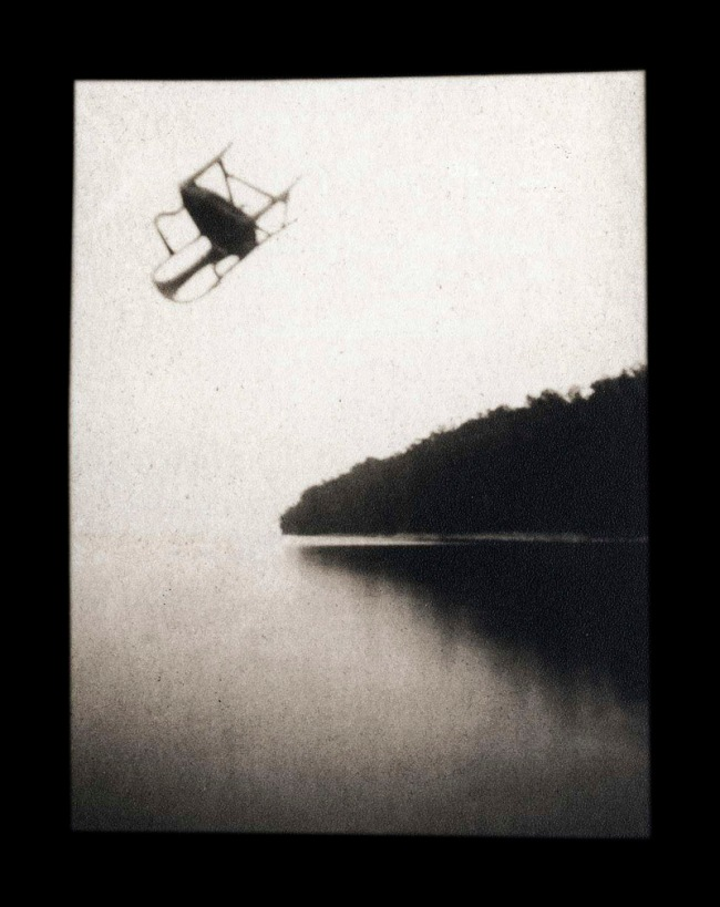 Ruth Thorne-Thomsen. 'Chair Over Point Wisconsin' 1983