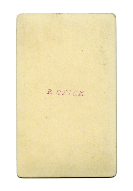 E. B. Pike. 'Untitled [Older man with moustache and parted beard]' Nd