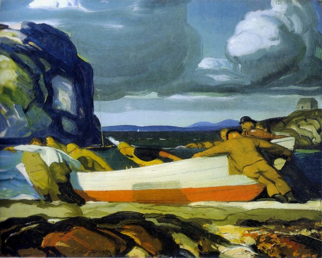 George Bellows (American, 1882-1925) 'The Big Dory' 1913