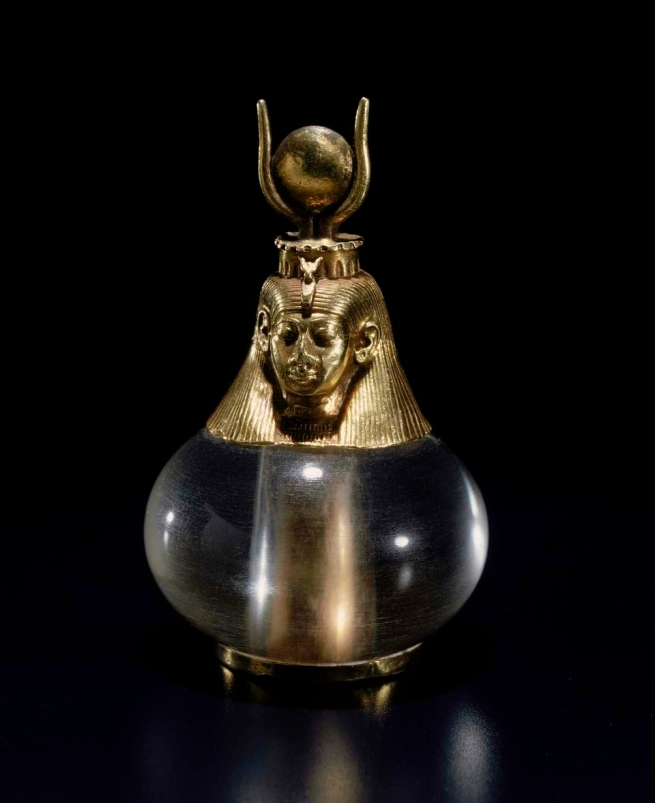 Anon. 'Hathor-headed crystal pendant' Napatan Period, reign of King Piye 743-712 BC