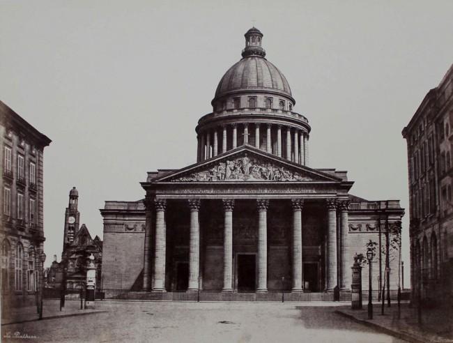 Edouard Baldus. 'Le Pantheon' 1853