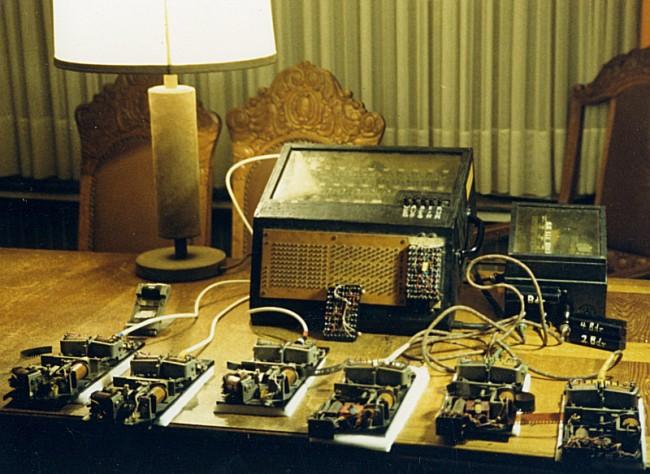 Gisbert Hasenjäger. 'Logic machine' c. 1960s