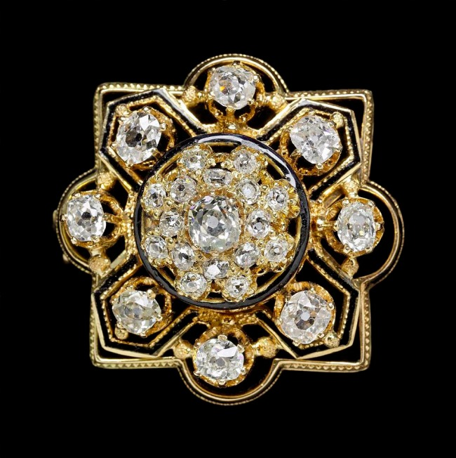 Anon. 'Brooch worn by Mary Todd Lincoln' (American, 1818-1882) American, about 1860