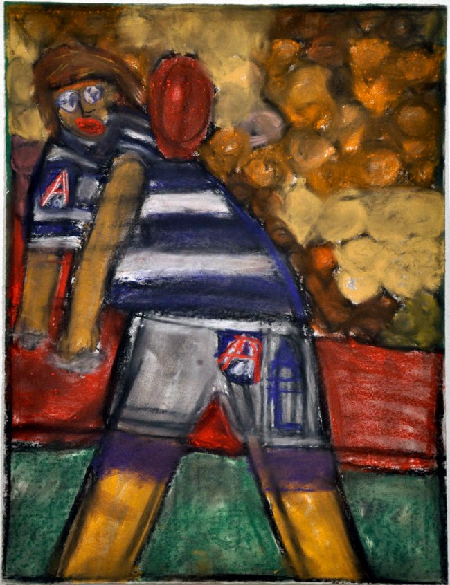 Valerio Ciccone. 'Not titled (Gary Ablett)' 1998