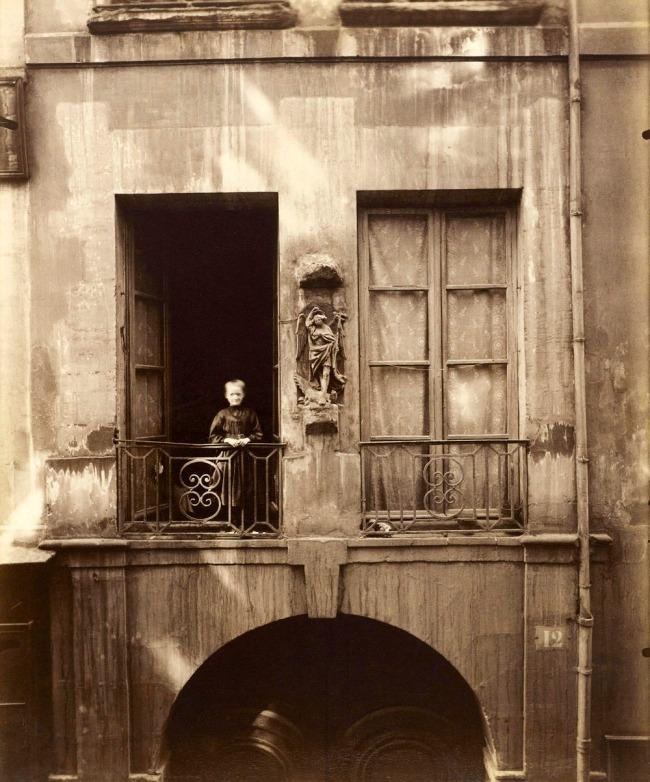 Eugène Atget. 'The former Collège de Chanac, 12 rue de Bièvre, 5th arrondissement' 1900