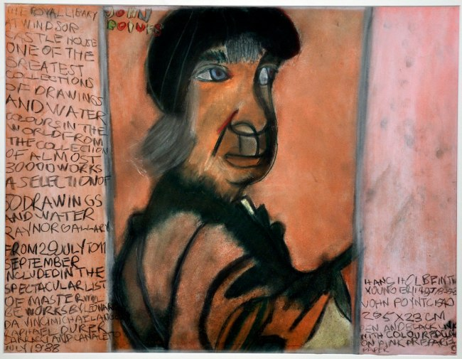 Valerio Ciccone. 'Not titled (After Holbein)' 1991