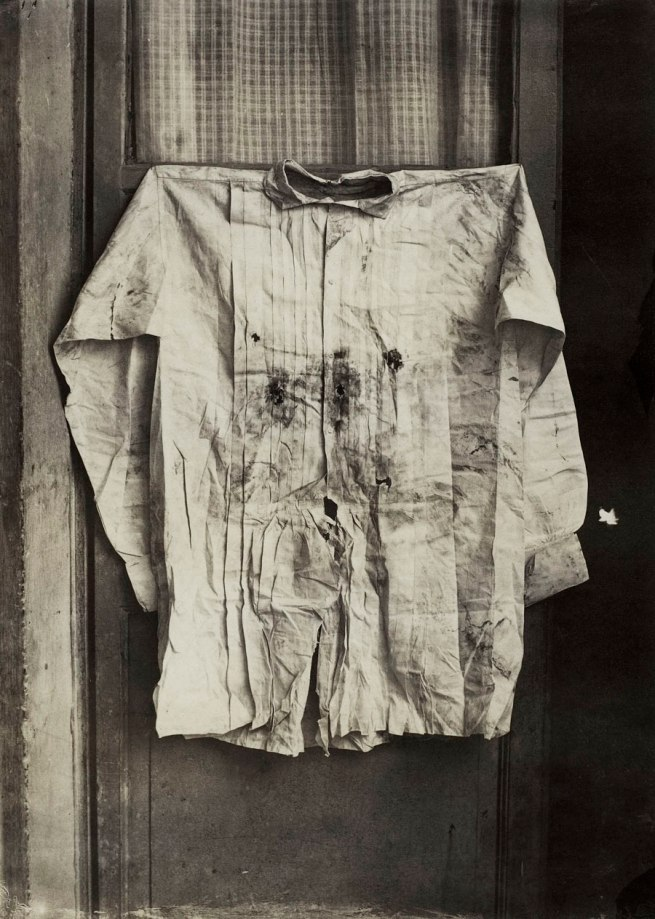 Francois Aubert (French, 1829-1906) 'The Shirt of the Emperor, Worn during His Execution, Mexico' 1867