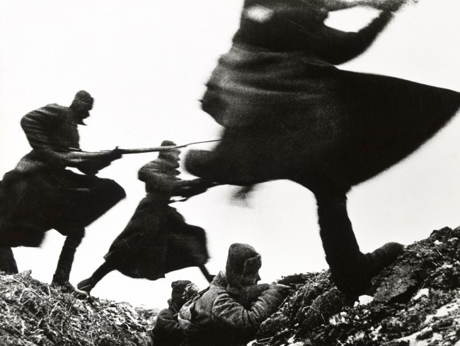Dmitri Baltermants. 'Attack - Eastern Front WWII' 1941