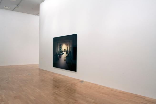 Installation view of 'Thomas Demand' at NGVI showing 'Vault' 2012