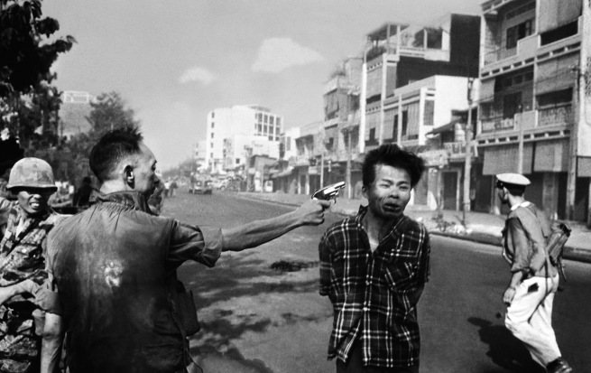Eddie Adams (American, 1933-2004) 'Saigon Execution (General Nguyen Ngoc Loan executing a Viet Cong prisoner in Saigon)' February 1, 1968