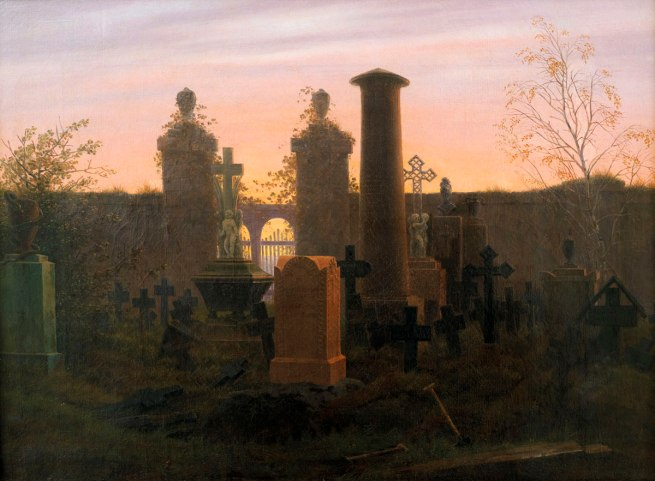 Caspar David Friedrich. 'Kügelgen's Tomb' 1821-22
