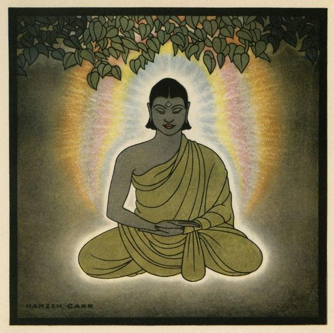 Hamzeh Carr. 'Lord Buddha' 1926