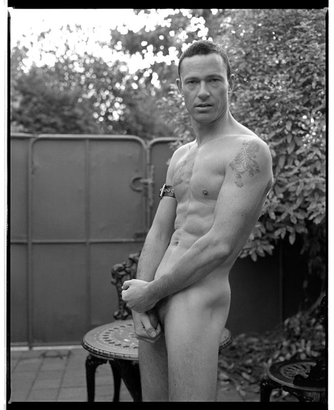Marcus Bunyan. 'Marcus holding his cock' 1992-94