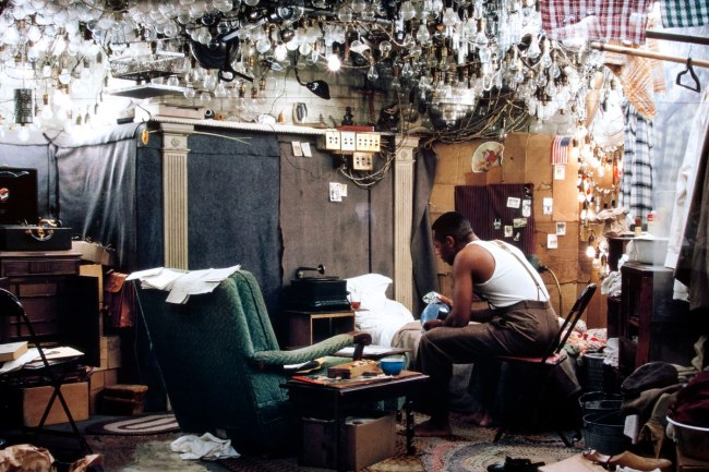 Jeff Wall Canadian 1946- 'After 'Invisible Man' by Ralph Ellison, the Prologue' 1999-2000 (detail)