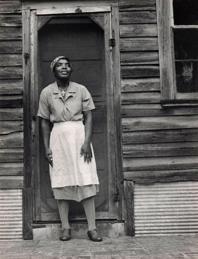 Edward Weston. 'Bessie Jones. St. Simons Island, Georgia' 1941