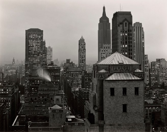Edward Weston. 'From 515 Madison Avenue, New York' 1941