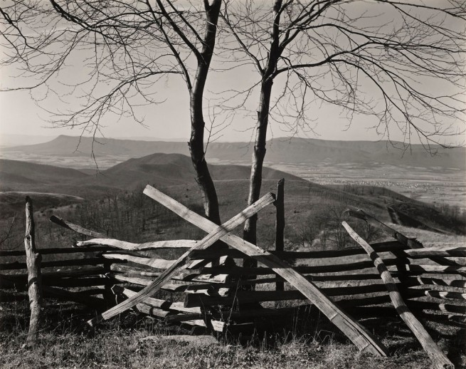Edward Weston. 'Shenandoah Valley, Virginia' 1941