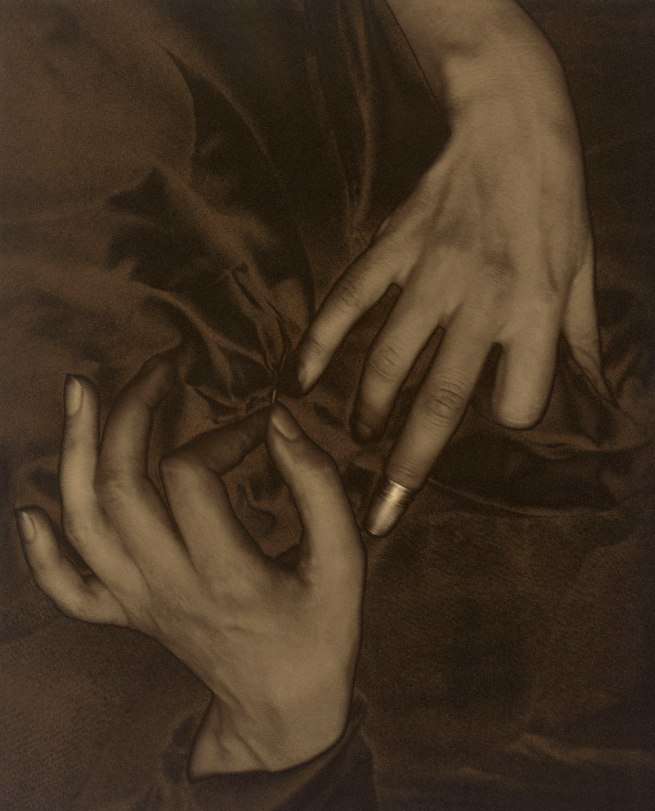 Alfred Stieglitz. 'Georgia O'Keeffe - Hands and Thimble' 1919