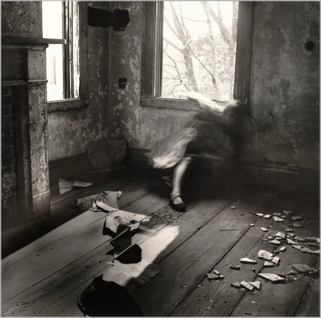 Francesca Woodman. 'House #3, Providence, Rhode Island' 1976
