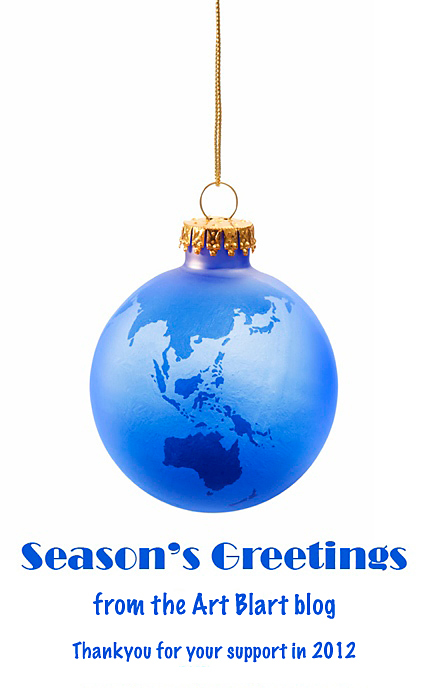 Season's Greetings from the Art Blart blog 2012