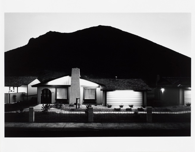 Lewis Baltz. 'Model Home, Shadow Mountain' 1977
