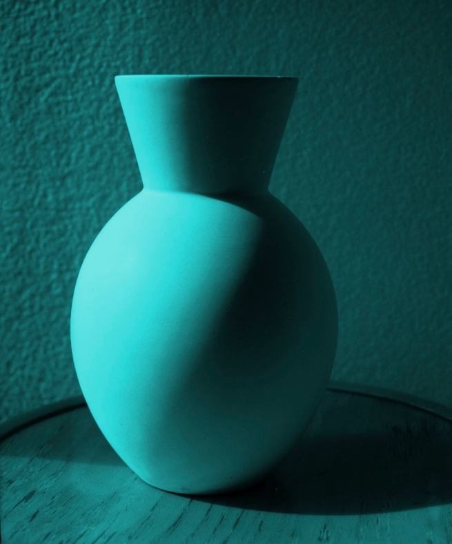 Janina Green. 'Blue vase' 1990 reprinted 2012
