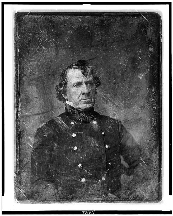 Matthew Brady. 'Colonel William Gates, believed to have been taken upon his return from the Mexican War' c. 1848
