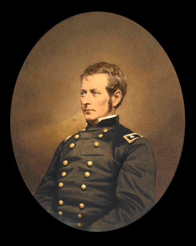 Mathew B. Brady American (1823-1896) 'Major-General Joseph Hooker' c. 1863